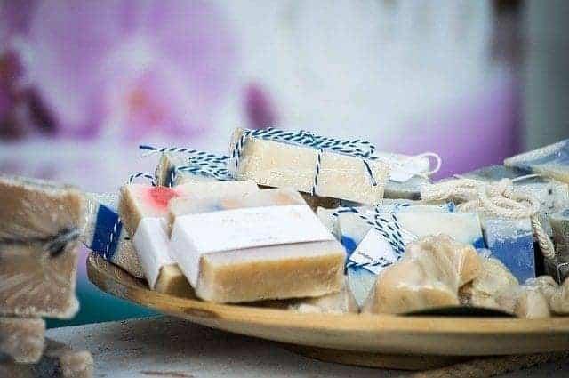 صابون طبيعي للحماية من الاكزيما
