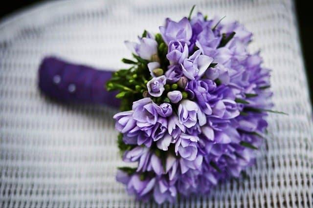 باقة من الزهور