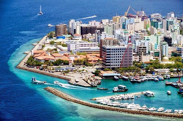 جزيرة ماليه عاصمة جزر المالديف