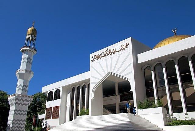 المسجد الكبير في جزر المالديف