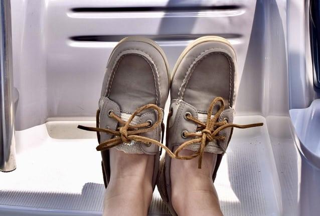 حذاء القارب