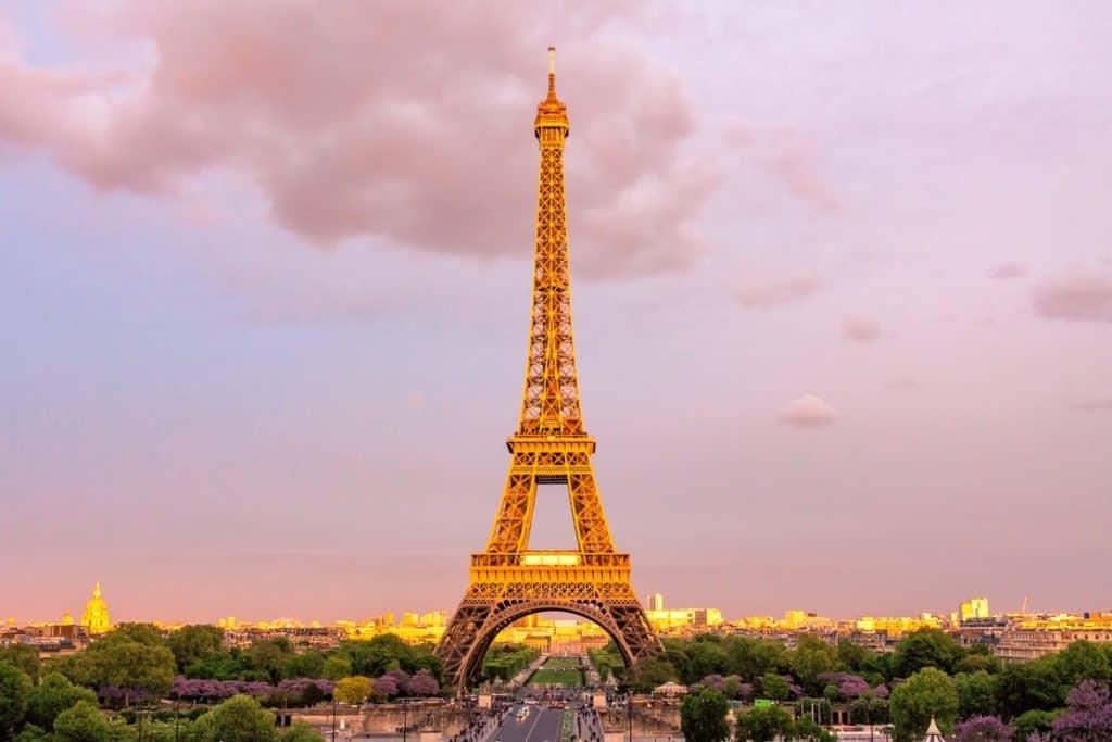 برج ايفل - باريس - السياحة في فرنسا