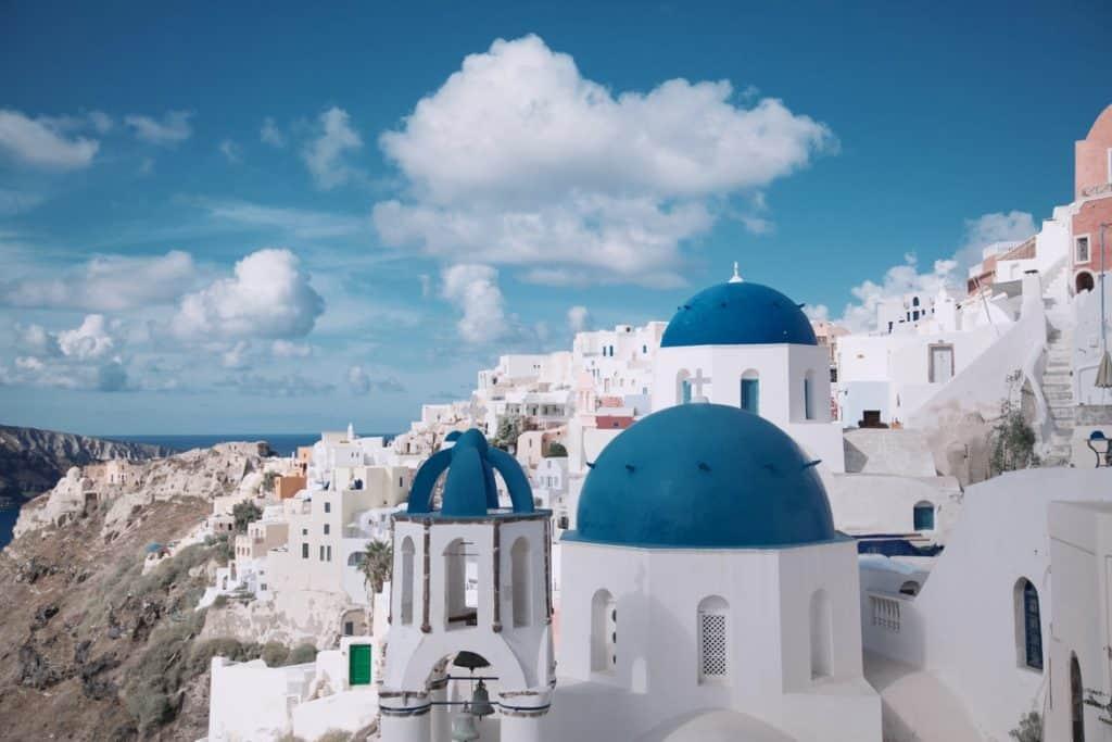 سانتوريني - أماكن سياحية في اليونان