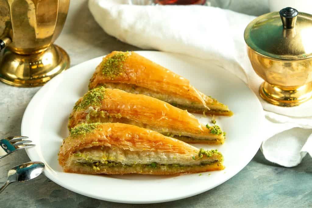 البقلاوة التركية من أشهر الحلويات الشرقية