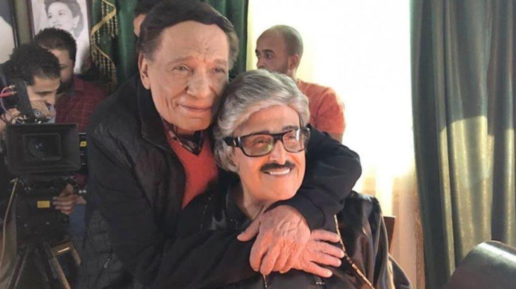 سمير غانم مع الزعيم