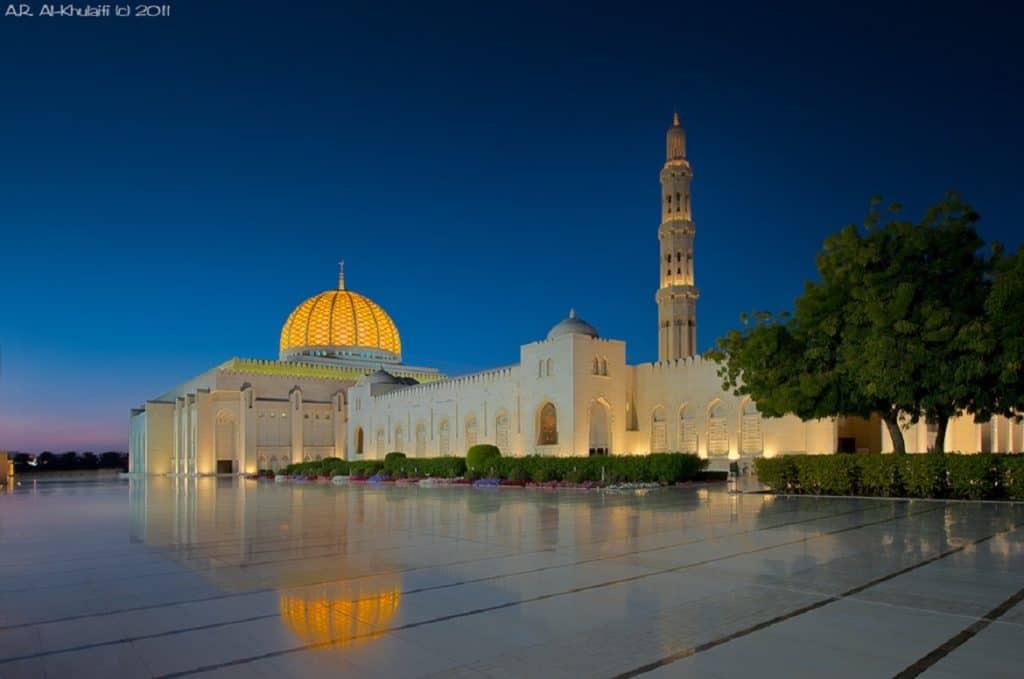 مسجد السلطان قابوس الأماكن السياحية في عمان