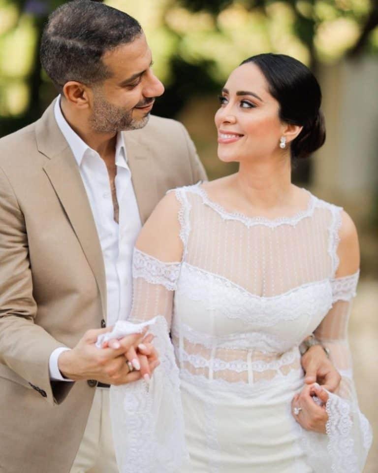 صور من زفاف فراج و بسنت