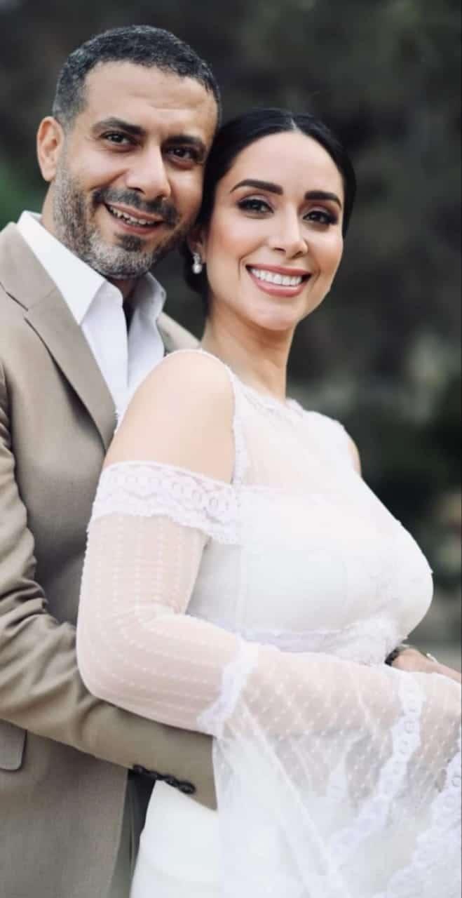 صورة رسمية للزفاف