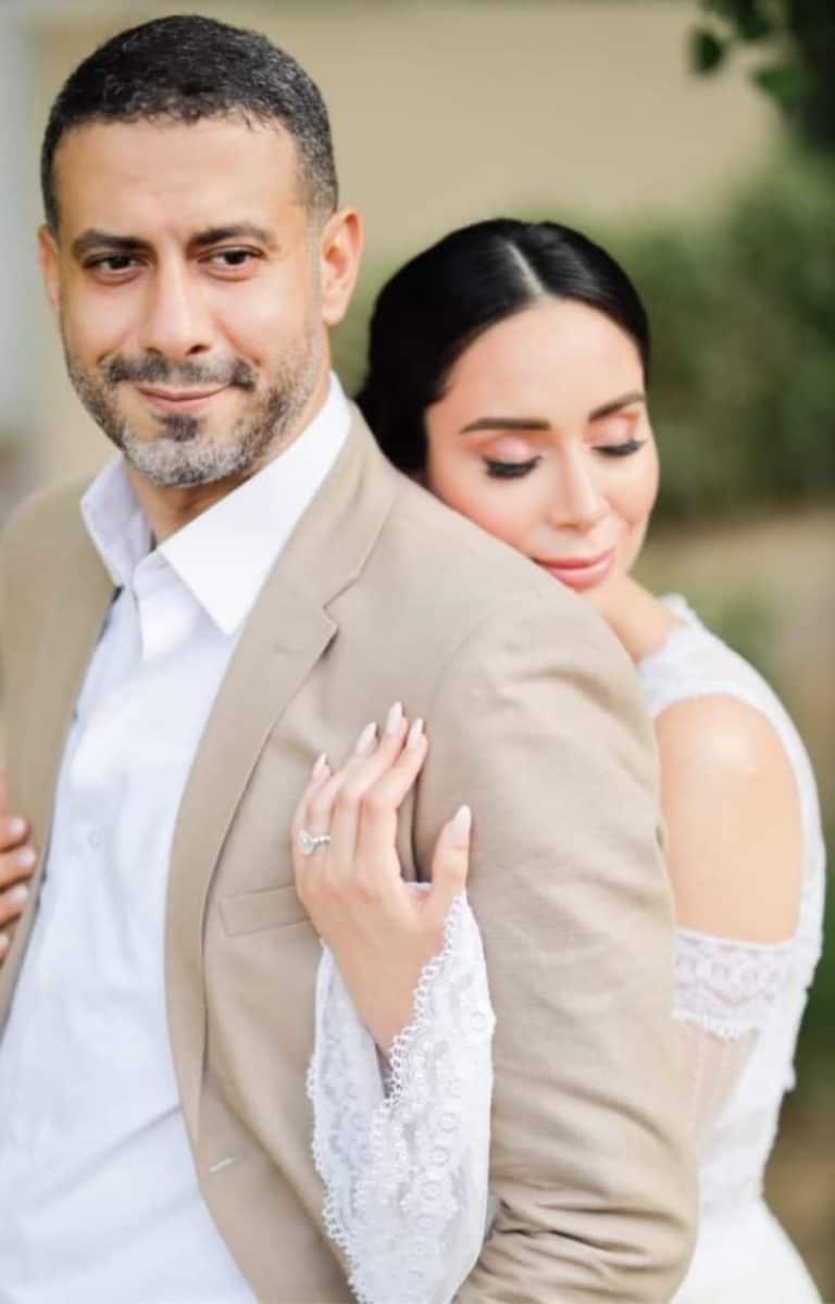 أكثر الصور تداولا لحفل الزفاف