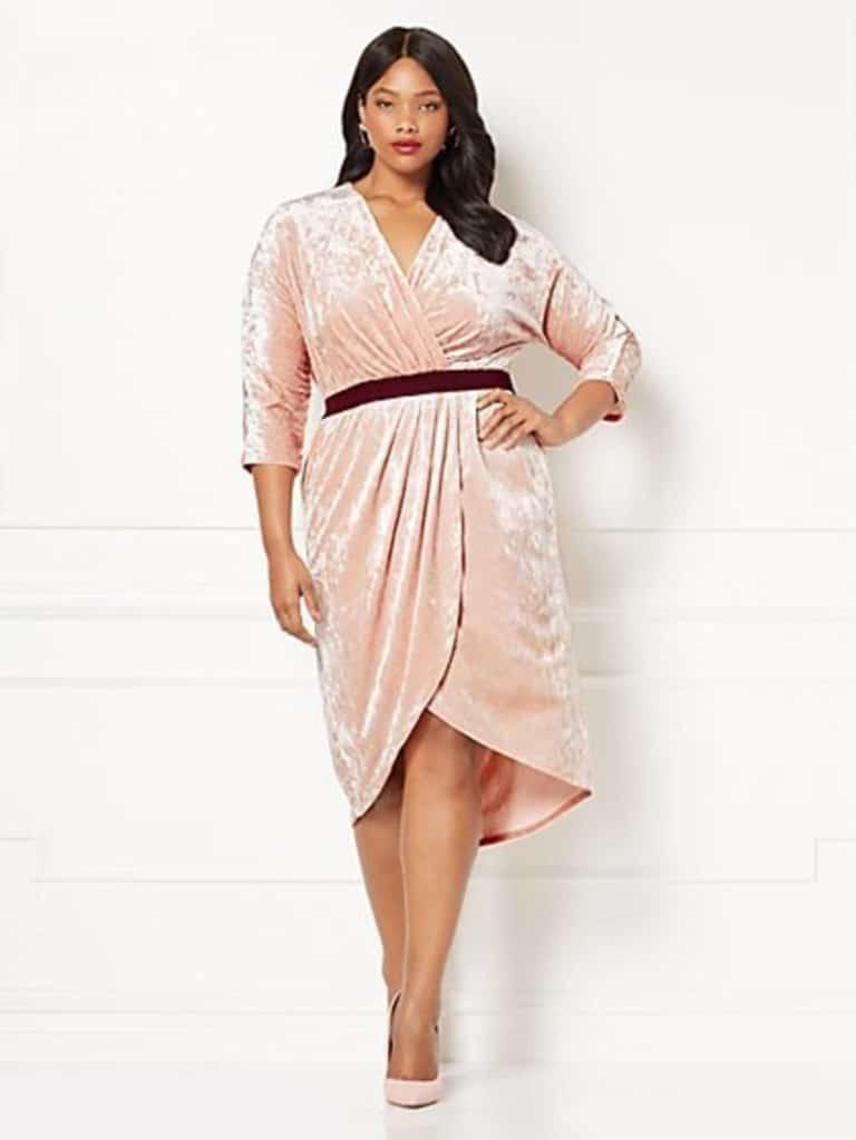 New-York-Co-Eva-Mendes-Collection-Wrap-Dress