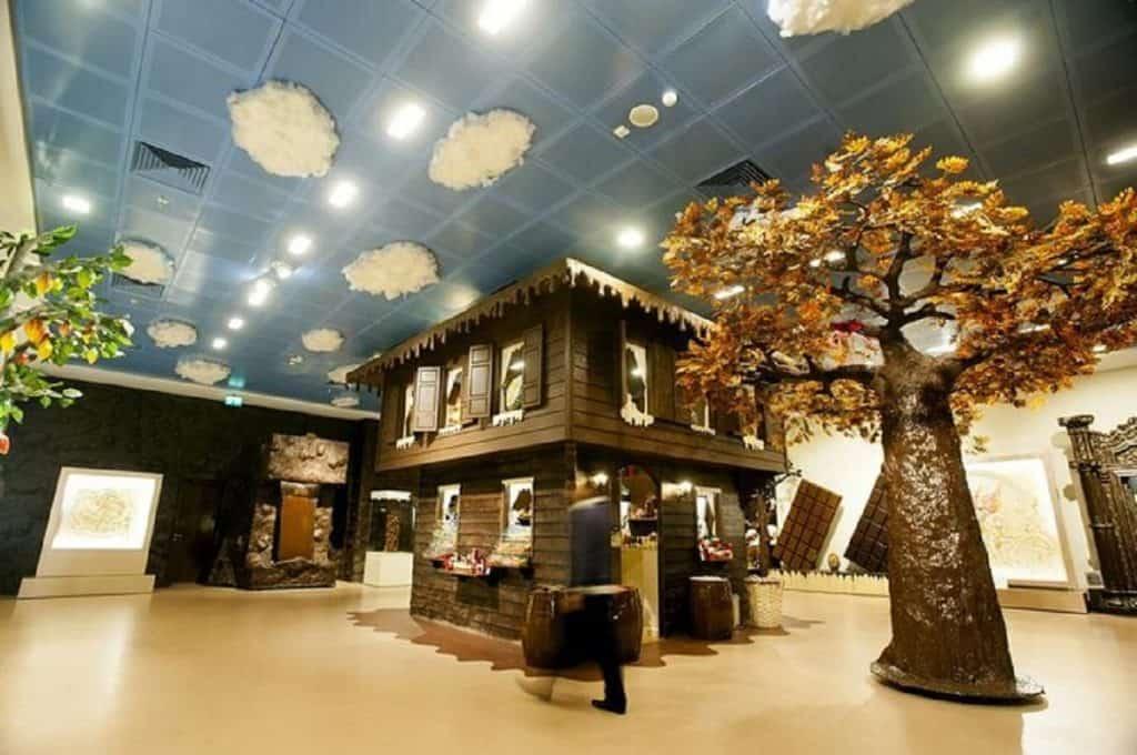 متحف الشوكولاتة أماكن مناسبة للأطفال
