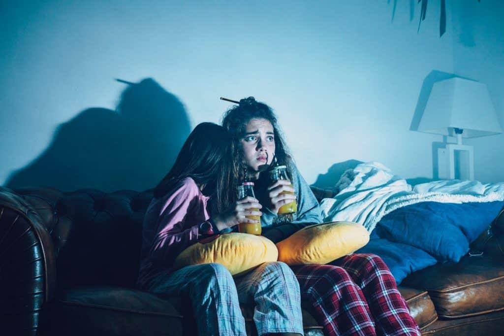 أفلام الرعب تسبب الكوابيس