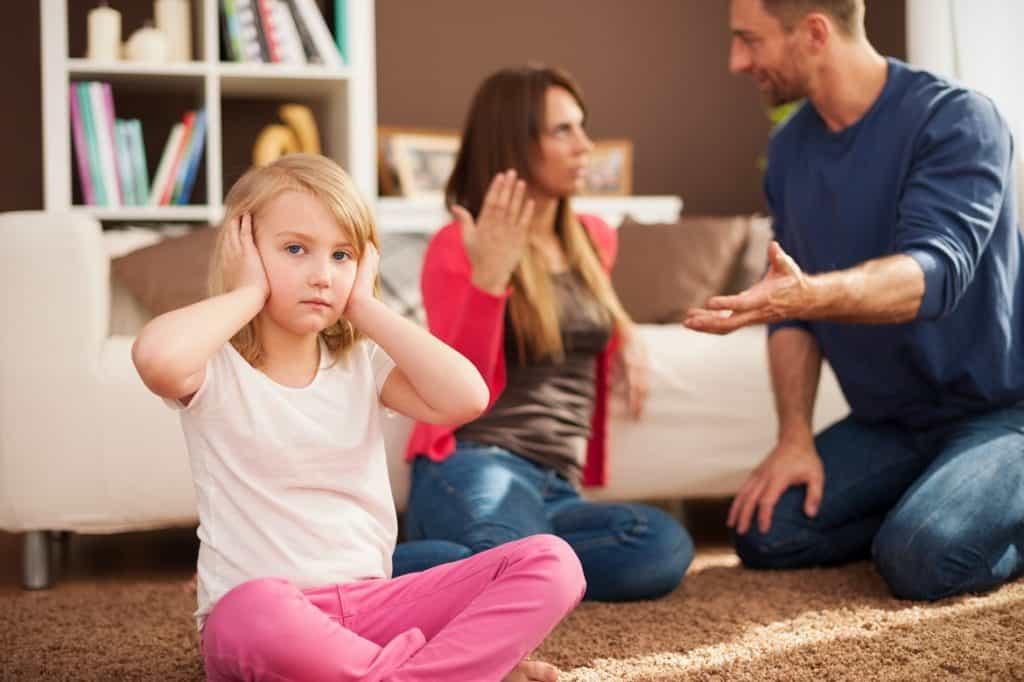 تأثير النزاعات الأسرية في الحياة الزوجية على الأطفال