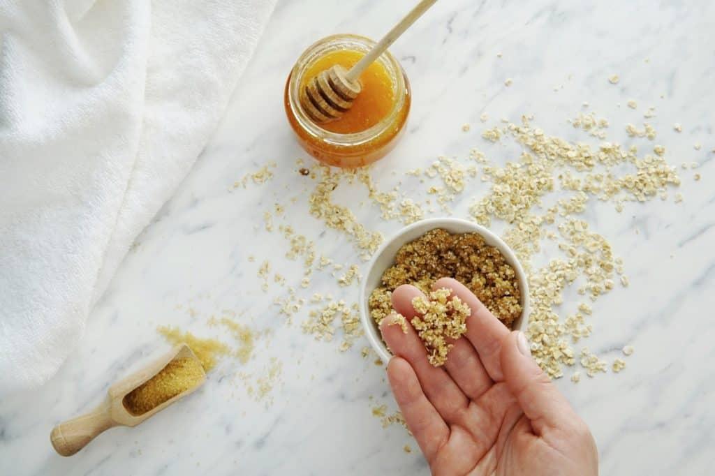 مقشر العسل للجسم