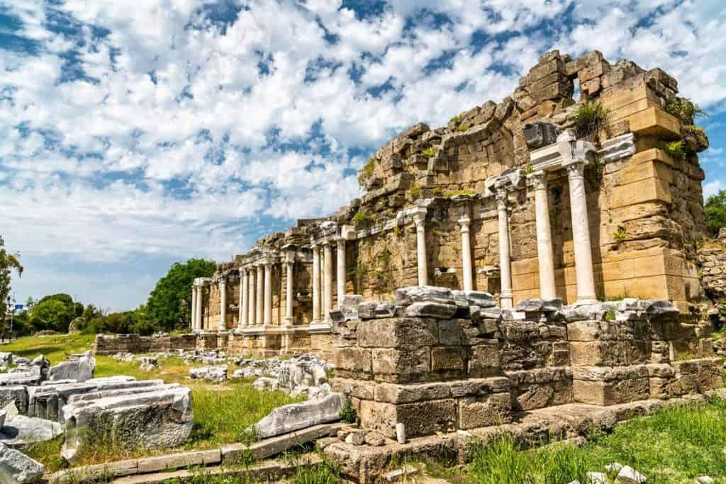المدينة القديمة السياحة في تركيا