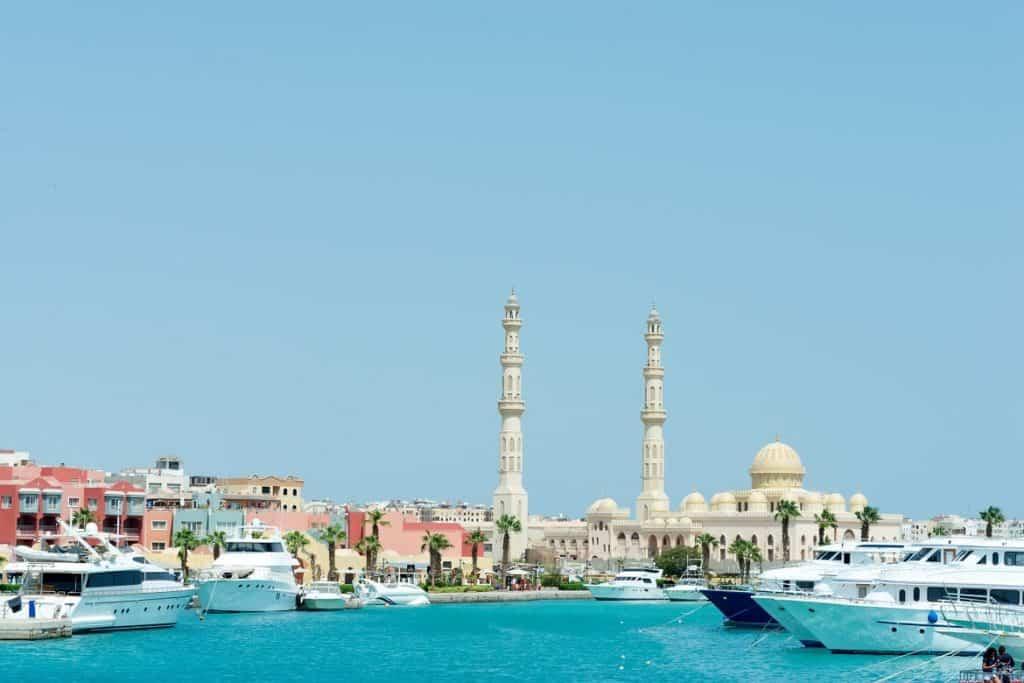 مدينة الغردقة السياحة في مصر