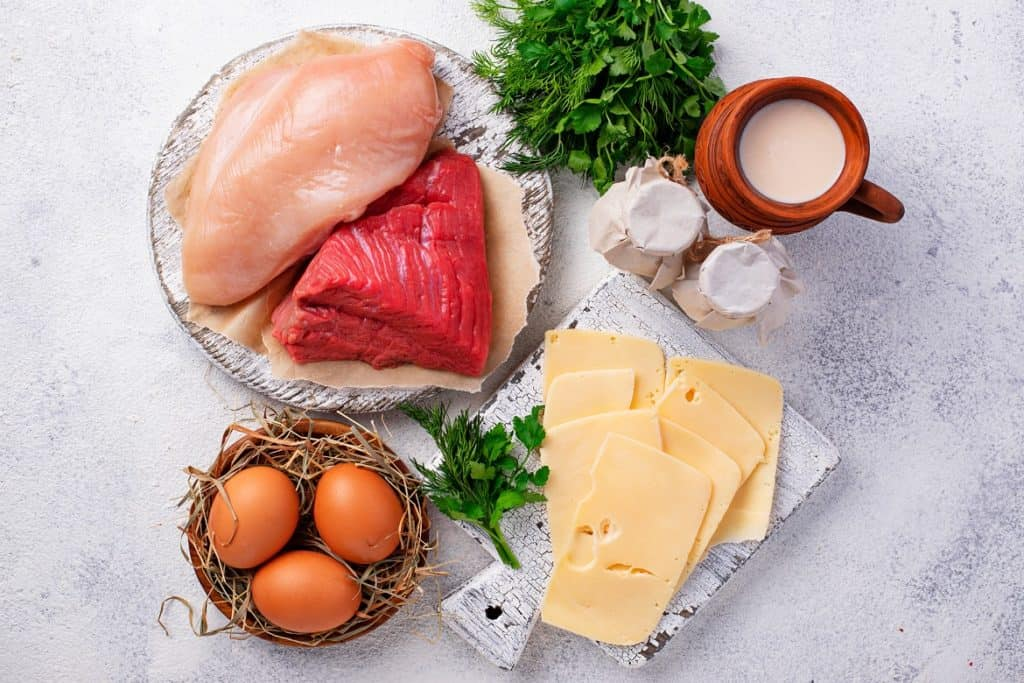 تناول البروتين يساعد على حرق الدهون