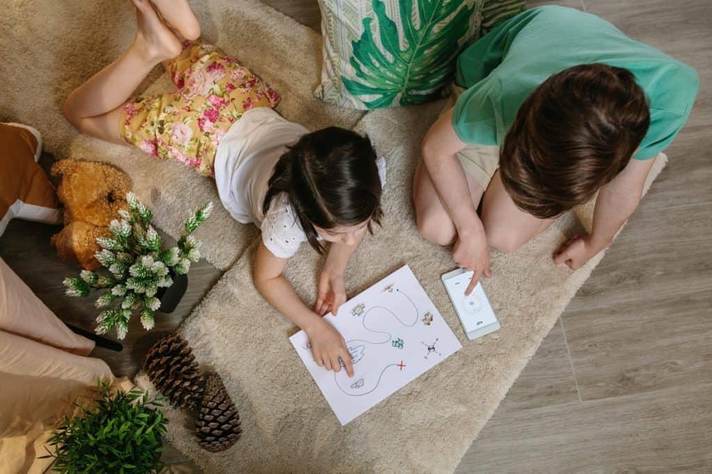 البحث عن الكنز ألعاب عائلية