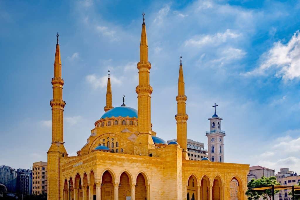 مسجد الأمين السفر إلى لبنان
