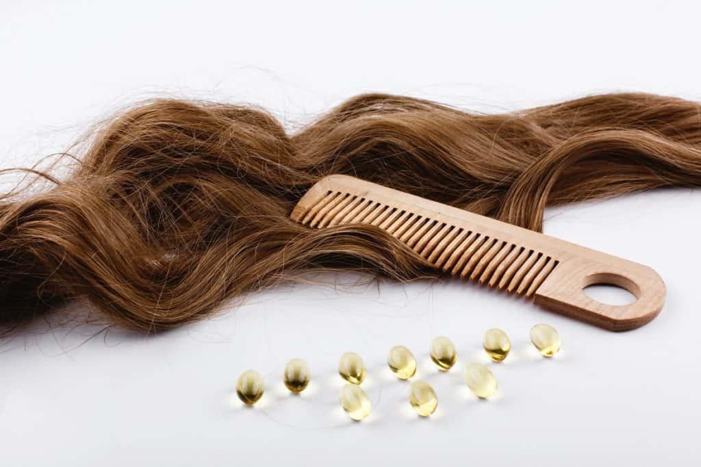 علاج الشعر الجاف