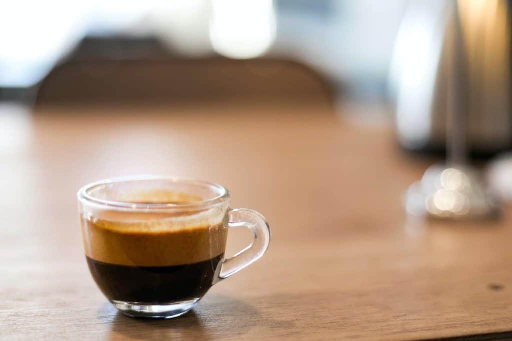 كوب من القهوة