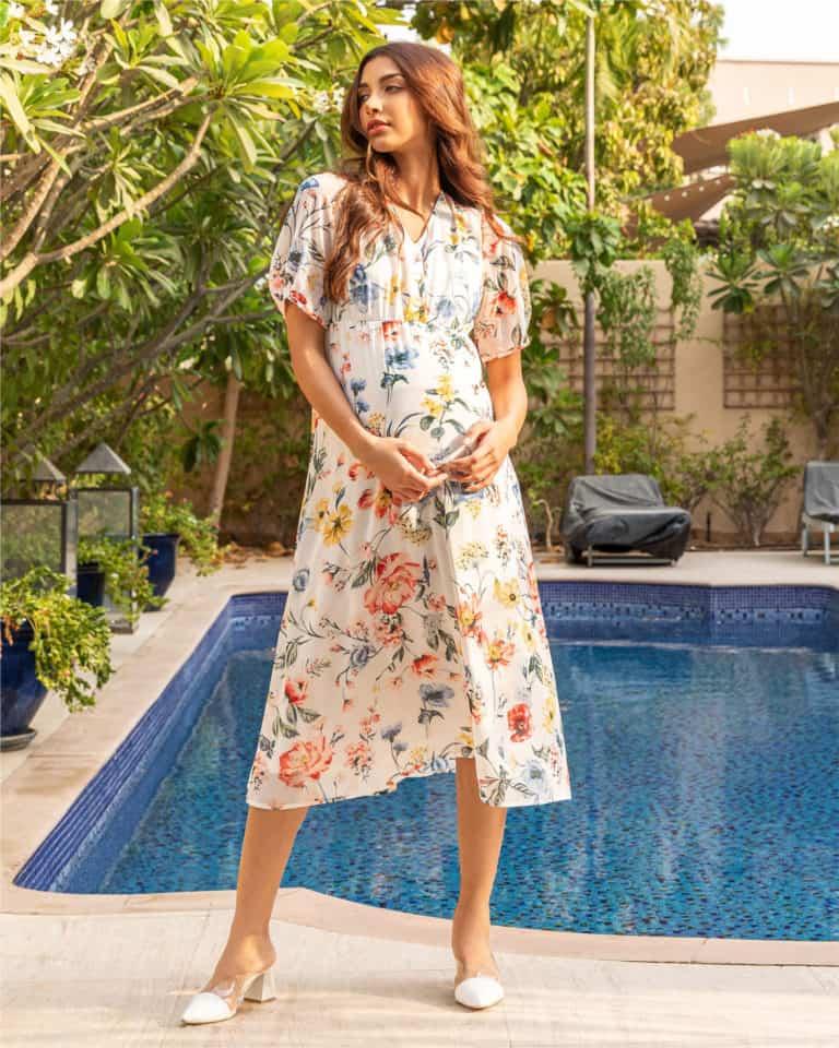 Max Maternity - Floral Dress