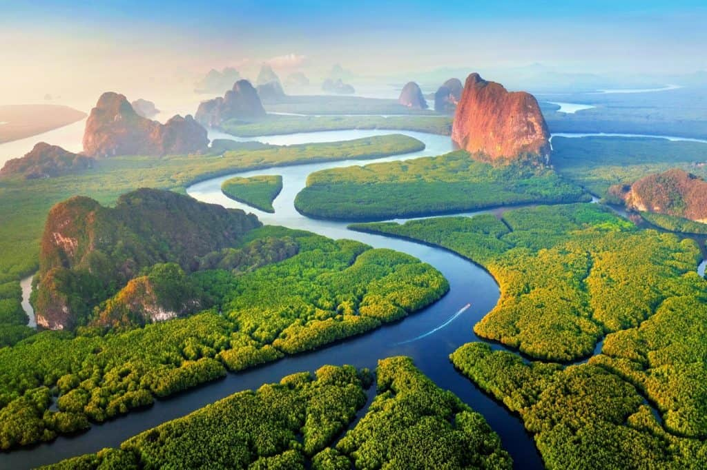 السياحة في تايلاند خليج بان ناه