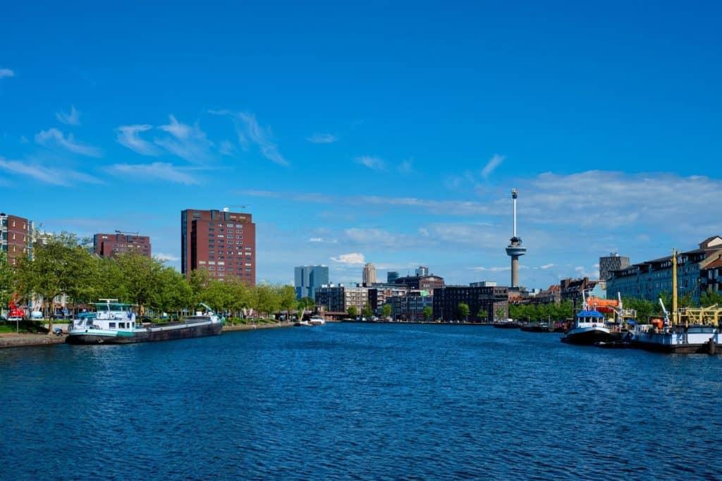 برج يوروماست السياحة في هولندا أمستردام