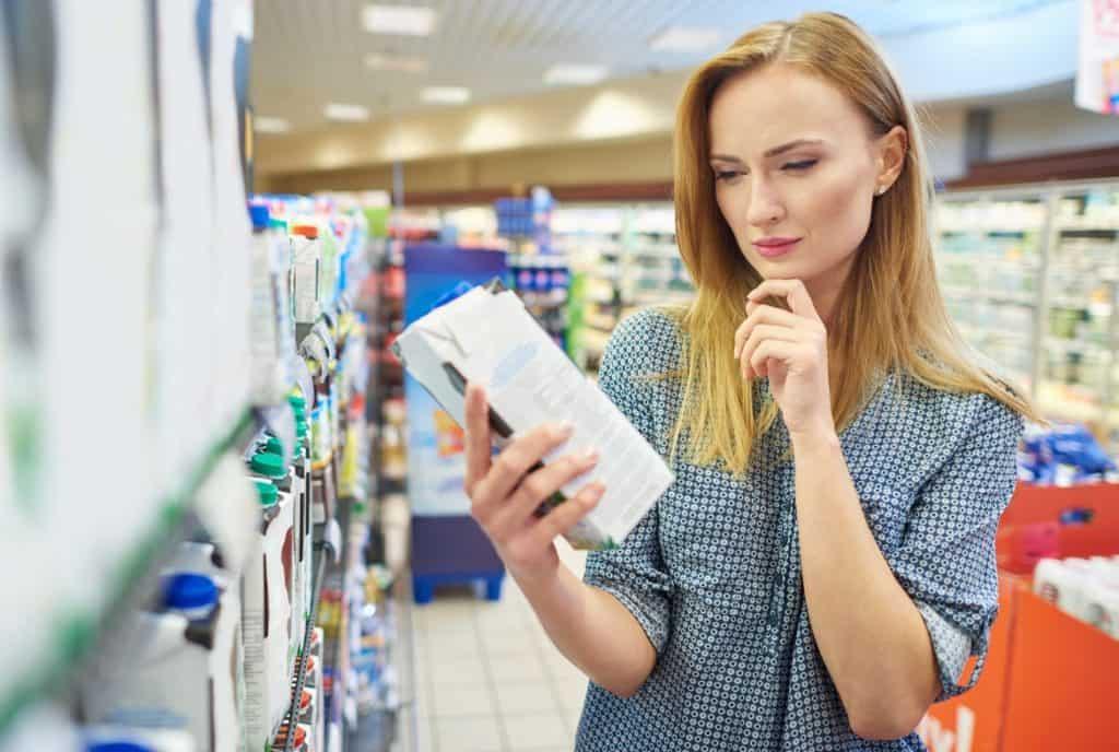 التردد أثناء التسوق